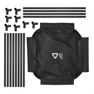 The Urban Worm Bag includes parts for the frame.